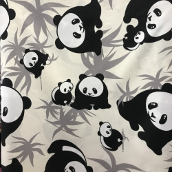 Loneta estampada Panda 0